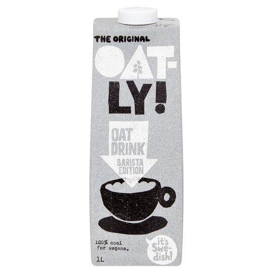 Oatly Oat Drink Barista Edition 1 Litre