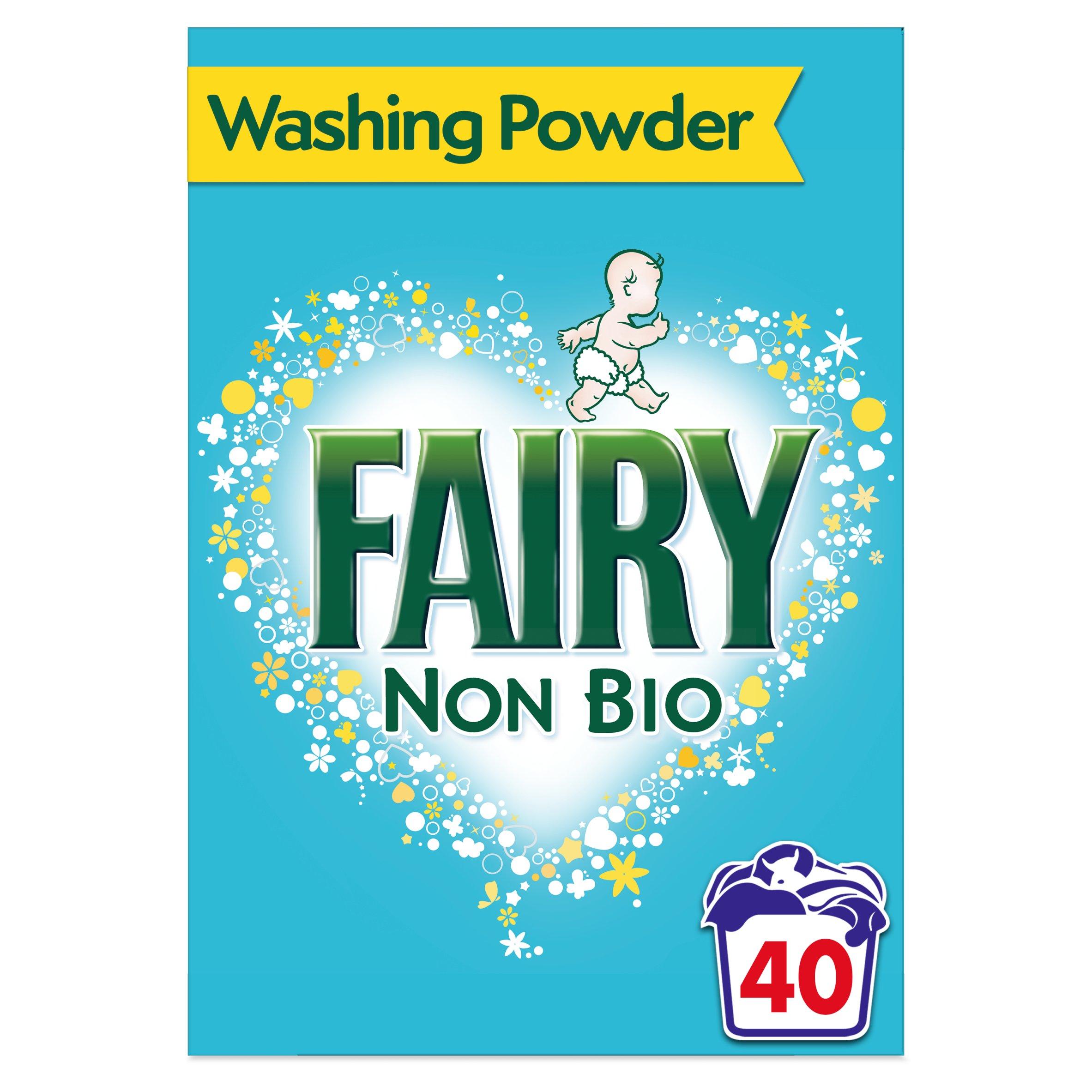 Fairy Non Bio. Washing Powder 40 Washes 2.6Kg