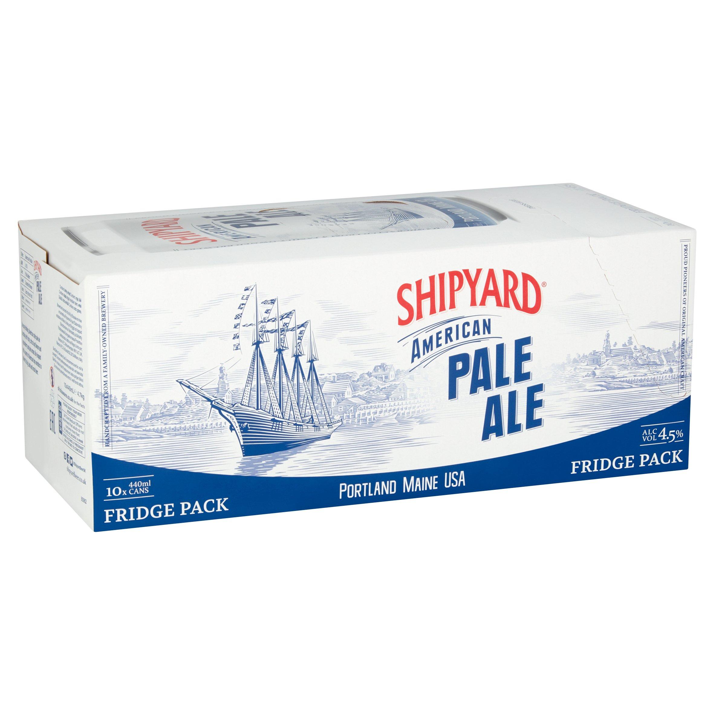 Shipyard American Pale Ale 10 X 440Ml