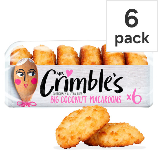 image 1 of Mrs Crimble's Coconut Macaroons 6 Pack