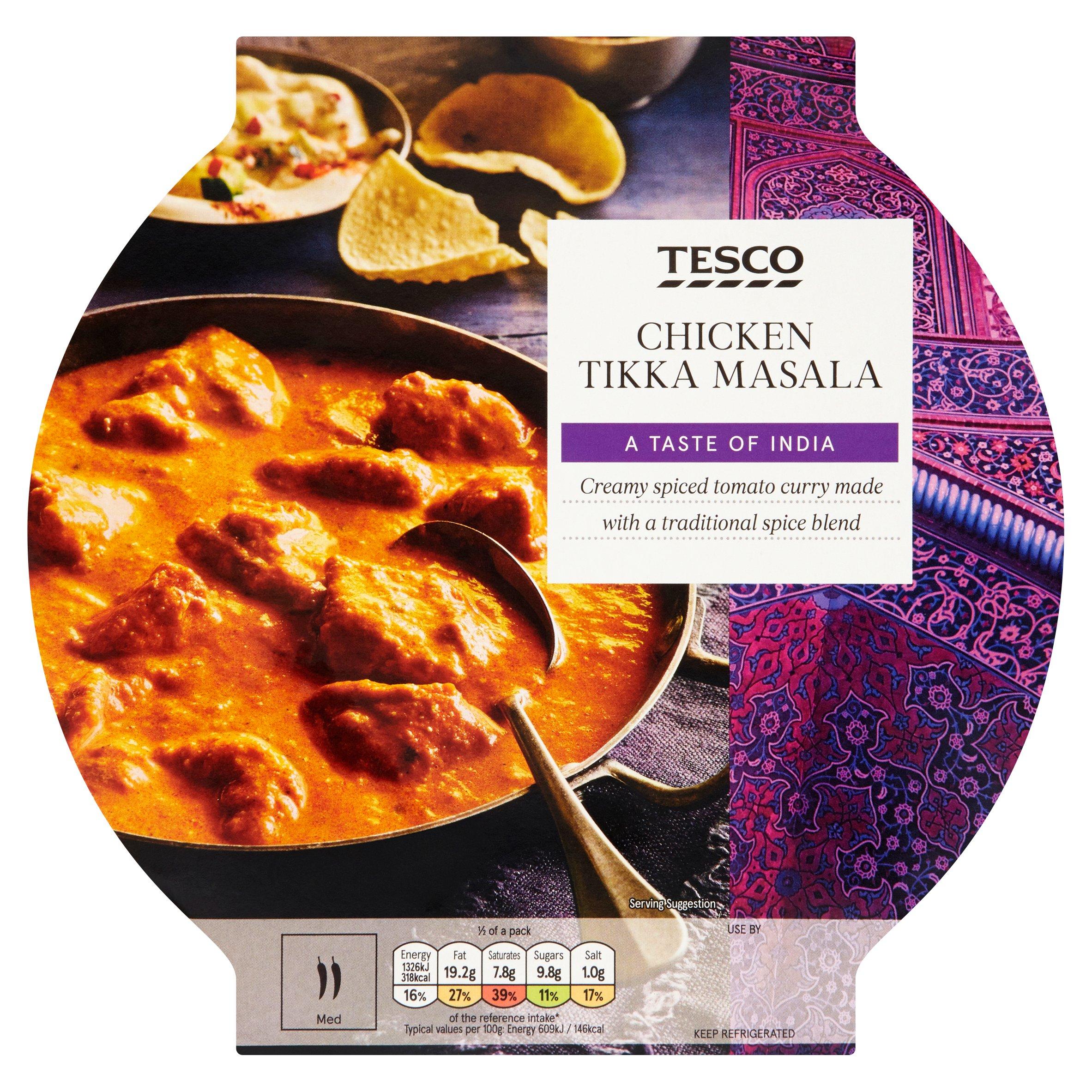 Tesco Chicken Tikka Masala 460G