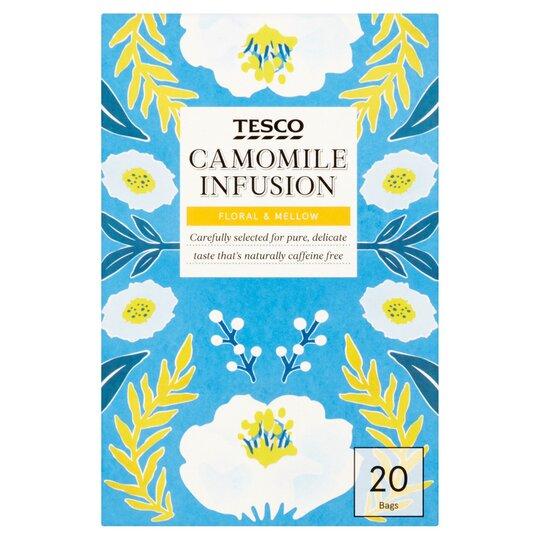 Tesco Camomile Tea Bags 20'S 30G