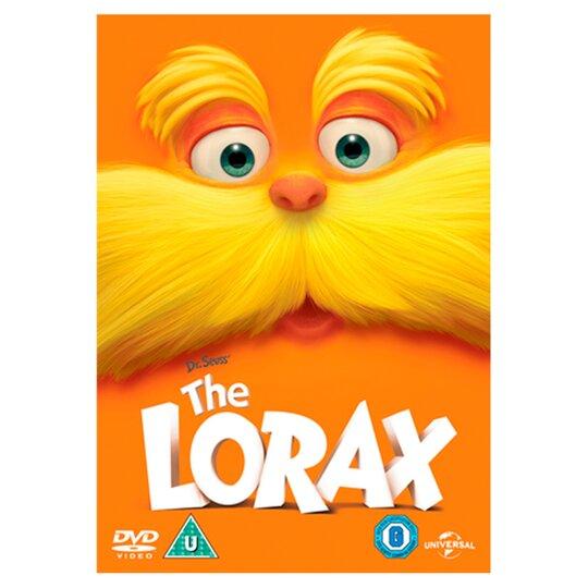 Dr Seuss The Lorax 2012 Dvd Tesco Groceries