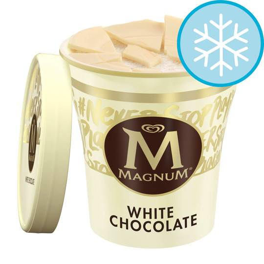 image 1 of Magnum Tub White Ice Cream 440 Ml