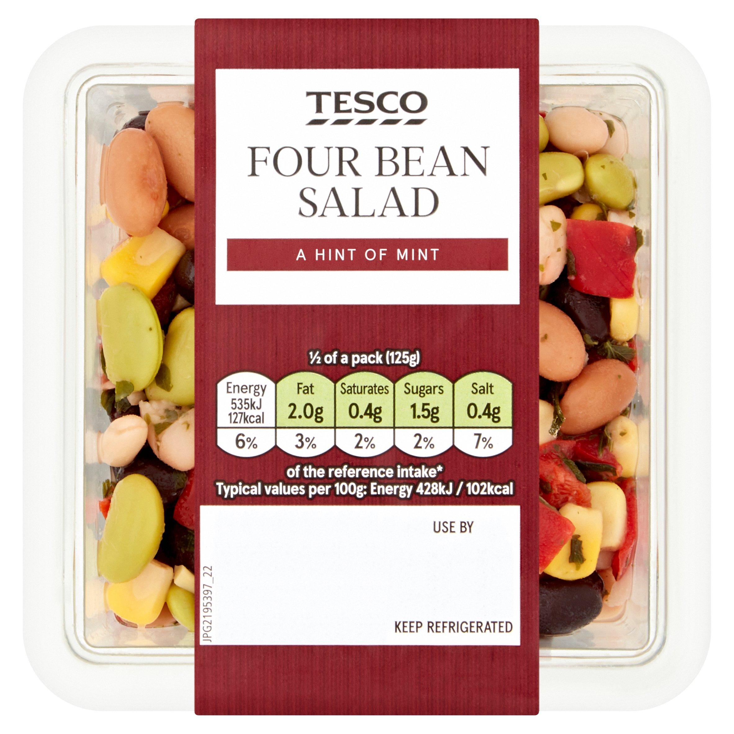 Tesco Four Bean Salad 250G