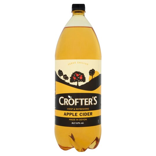 Crofters Apple Cider 5% 2L - Tesco Groceries