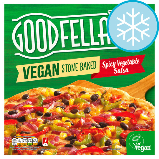 Goodfellas Vegan Spicy Vegetable Salsa Pizza 375G