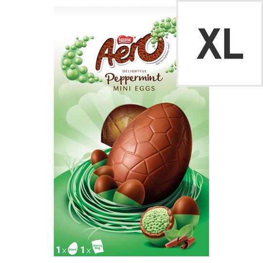 Aero Bubble Peppermint Chocolate Giant Egg 270G