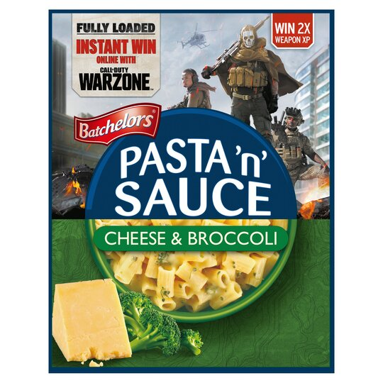 Batchelors Pasta & Sauce Cheese & Broccoli Quick Cook 99G