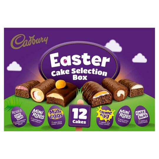 Cadbury 12 Easter Cake Selection
