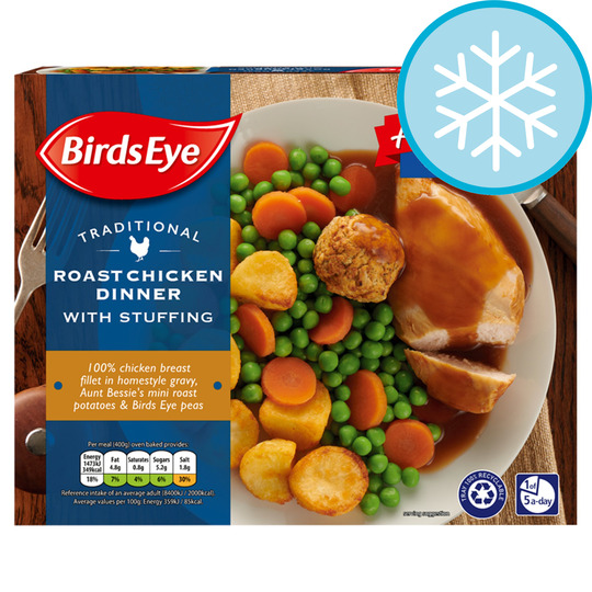 Birds Eye Traditional Chicken Dinner 400G