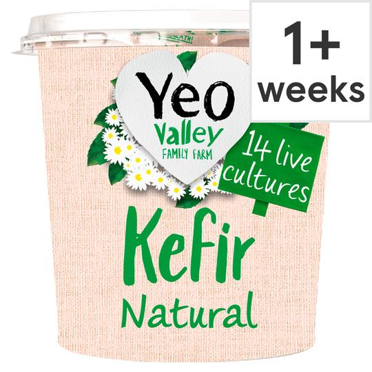 Yeo Kefir Natural Organic Yogurt 350G