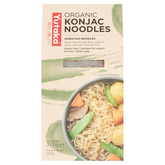 Yutaka Organic Gluten Free Konjac Plain Noodles 200G