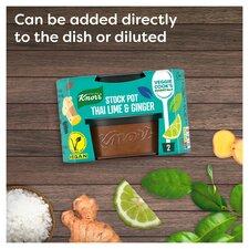 image 4 of Knorr Stock Pot Kaffir Lime & Ginger 2 X 26G