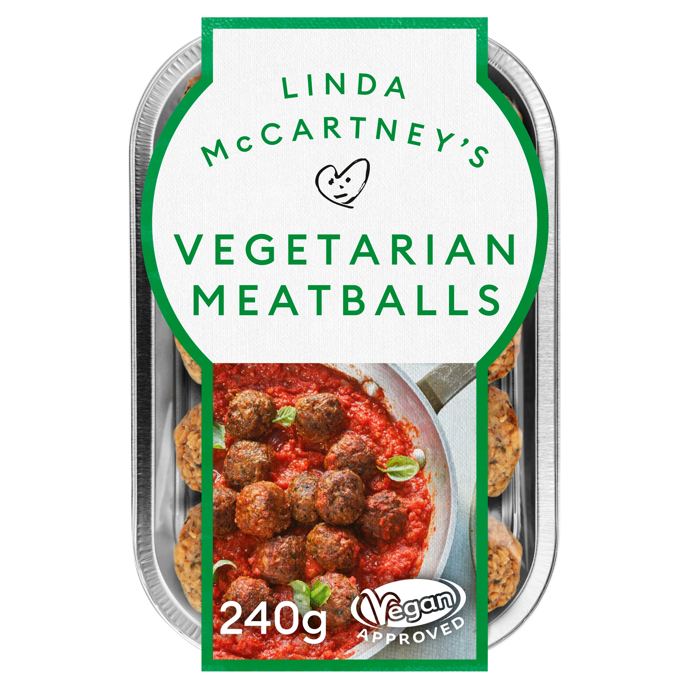 Linda Mccartneys Vegerarian Meatballs 240G
