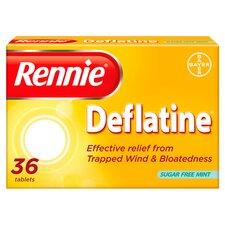 image 1 of Rennie Deflatine Indigestion Tablets 36'S