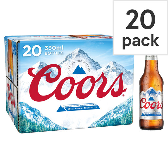 image 1 of Coors 20 X 330Ml