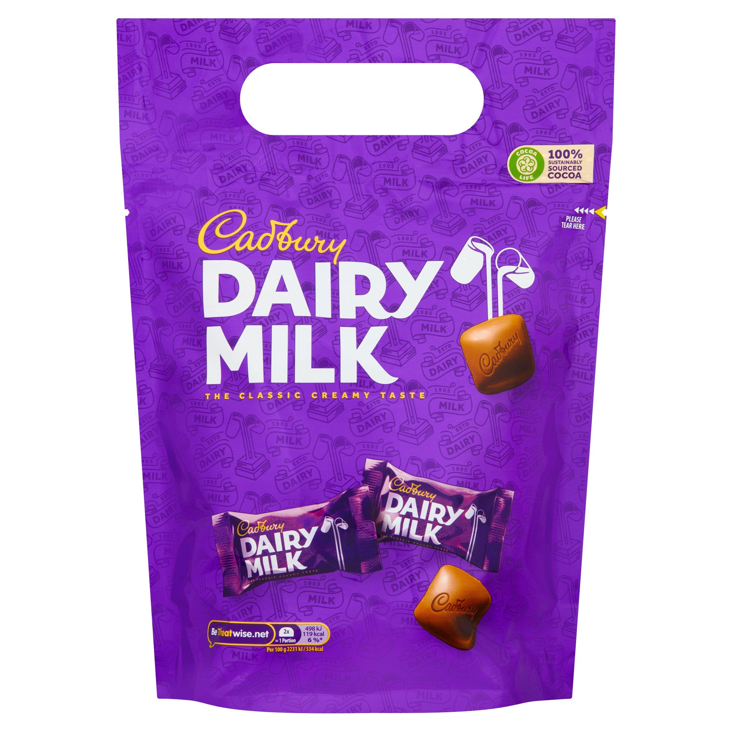 Cadbury Dairy Milk Chunk Pouch 350G