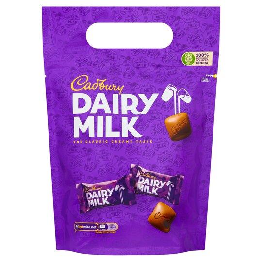 image 1 of Cadbury Dairy Milk Chunk Pouch 350G