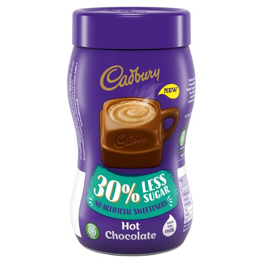 Cadbury Hot Chocolate 30 Less Sugar 280g