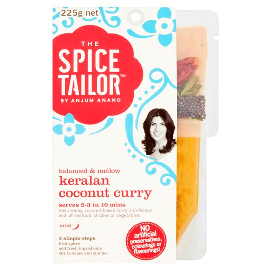 image 1 of The Spice Tailor Keralan Coconut Curry 225G