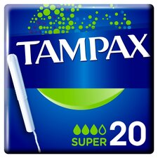 image 3 of Tampax Blue Box Super 20