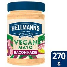 image 1 of Hellmann's Vegan Mayonnaise Baconnaise 270G