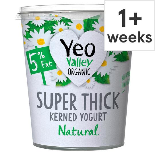 Yeo Valley Organic Super Thick Natural Yogurt 850G