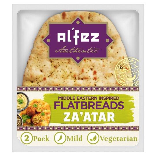 Al'fez Middle Eastern Za'atar Flatbreads 2 Pack