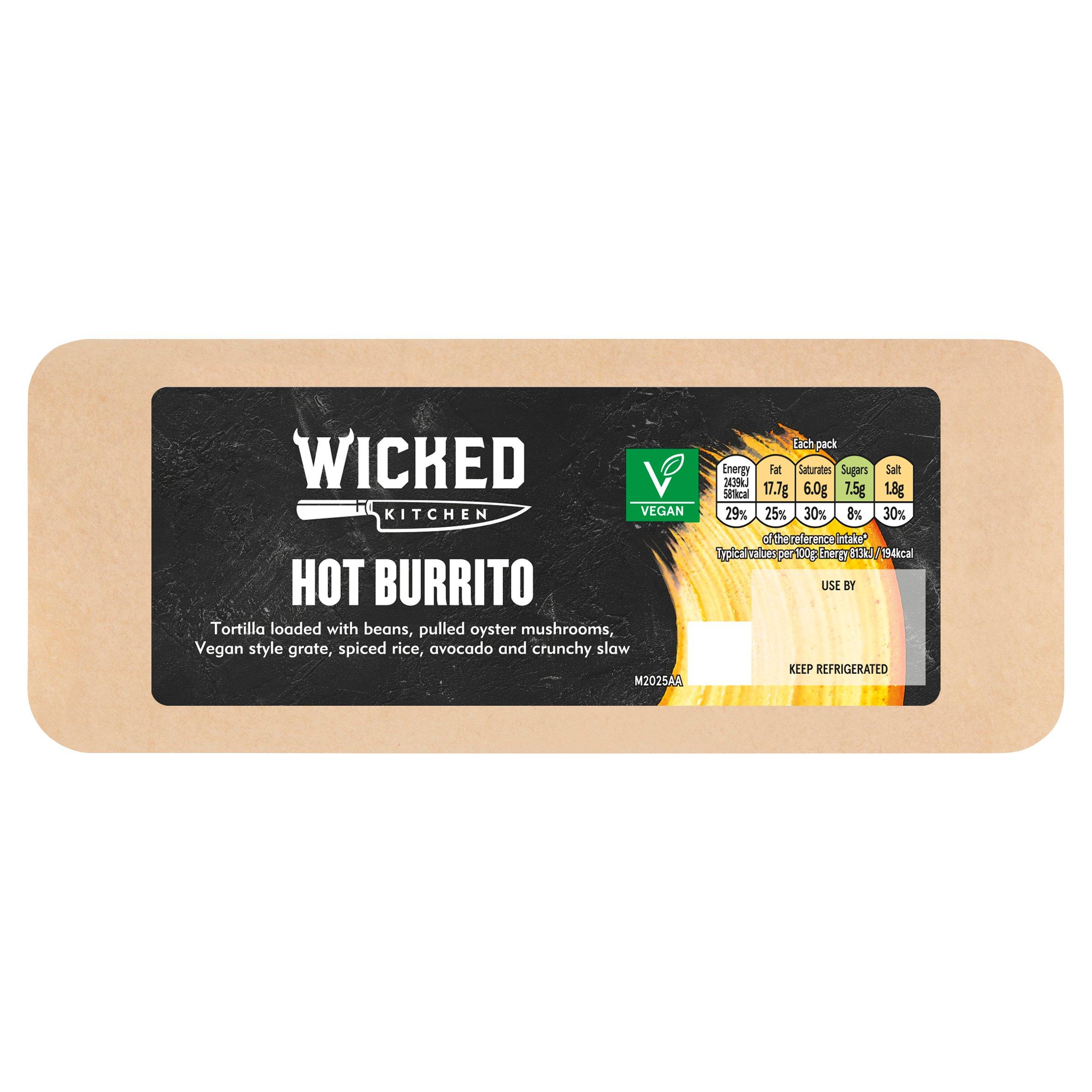 Wicked Kitchen Hot Burrito
