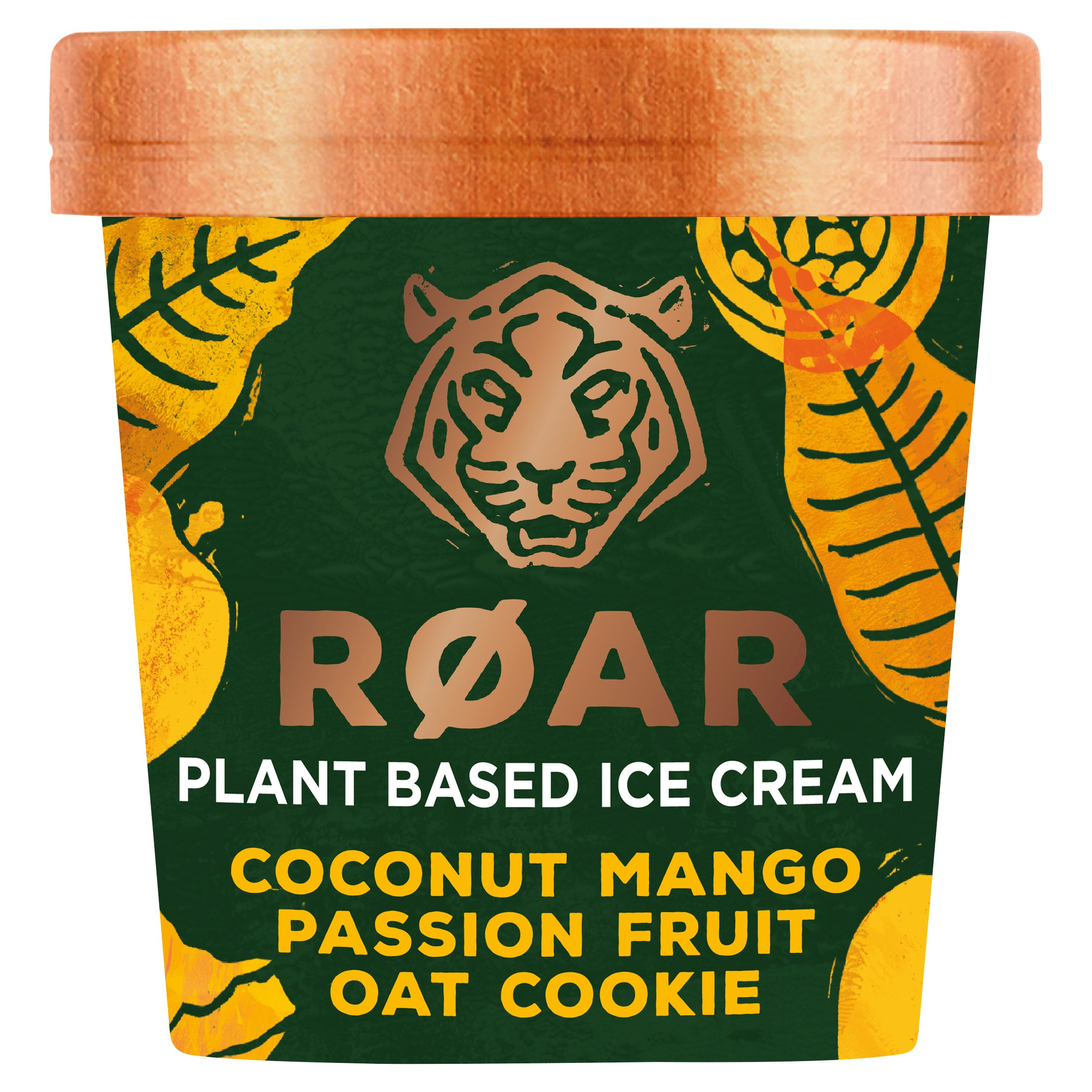 Roar Coconut Mango Passion Fruit Oat Cookie Ice Cream 500Ml
