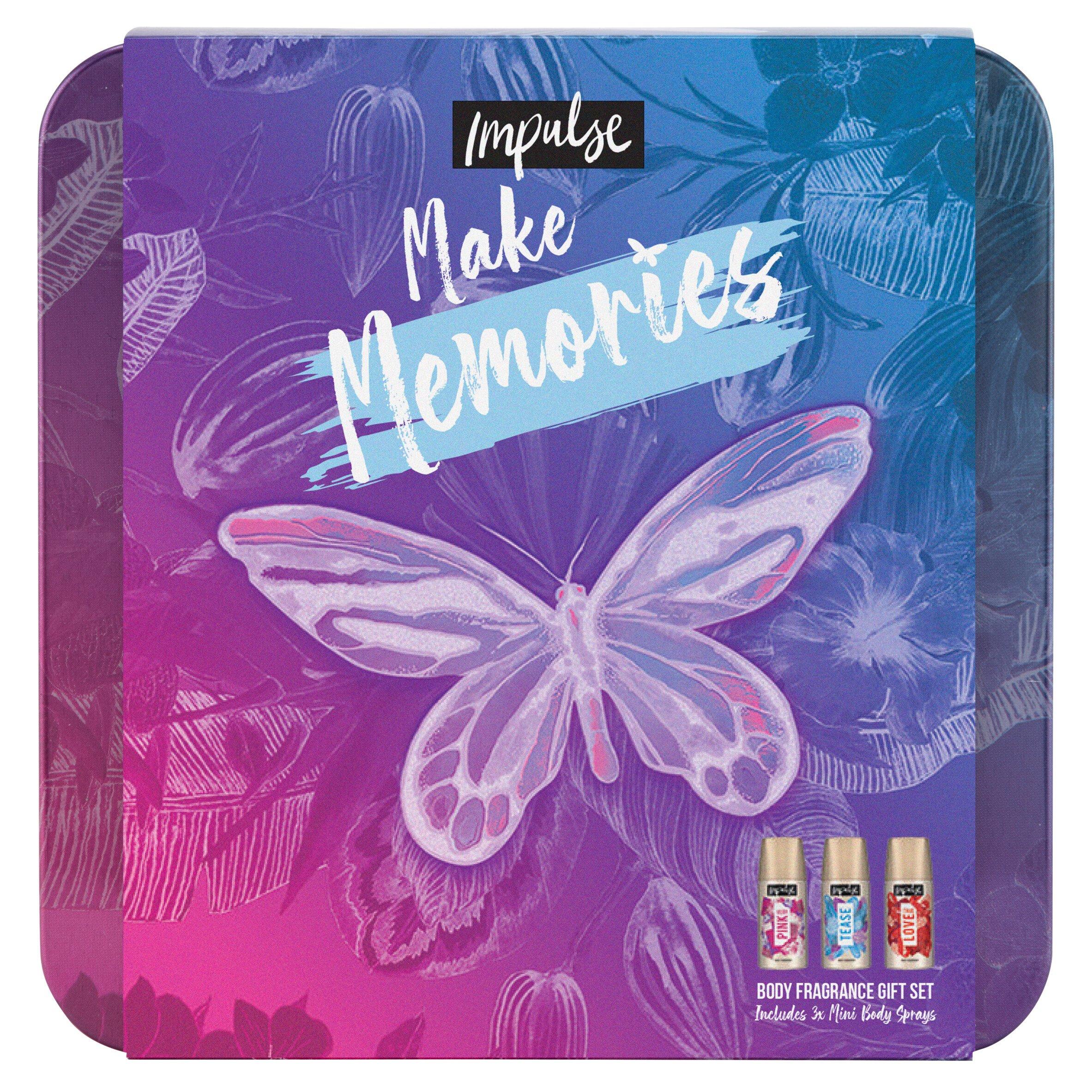 Impulse Make Memories Body Fragrance Set 3X35ml
