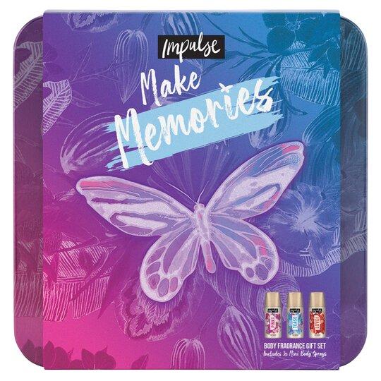 image 1 of Impulse Make Memories Body Fragrance Set 3X35ml