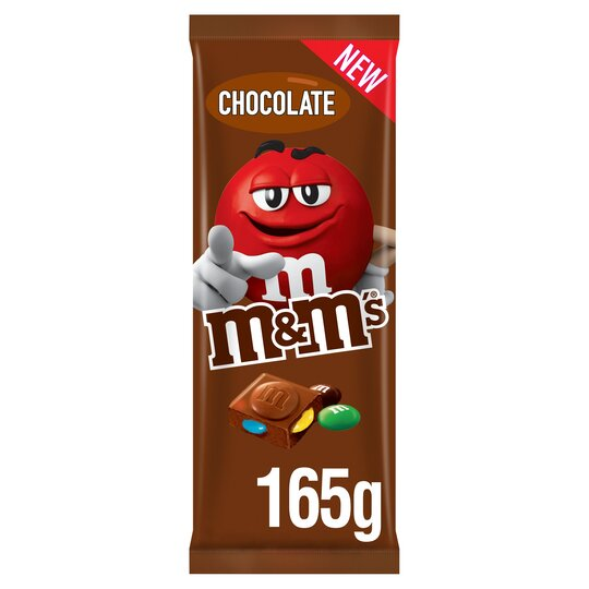 image 1 of M&M's Milk Chocolate Block 165G