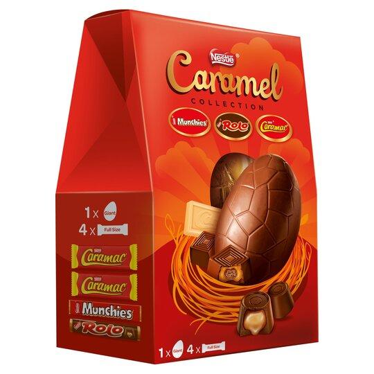 Nestle Caramel Collection Giant Easter Egg 364G