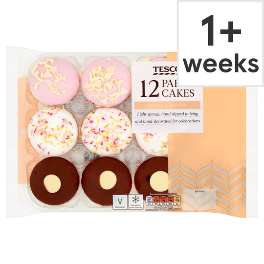 Excellent Tesco Party Cake Selection 12 Pack Tesco Groceries Funny Birthday Cards Online Eattedamsfinfo
