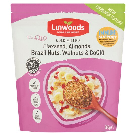 Linwoods Milled Flax, Nuts & Q10 360G