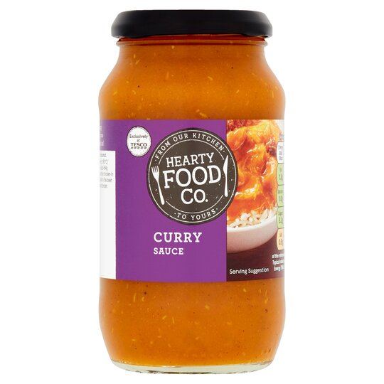 Hearty Food Co Curry Sauce 440g