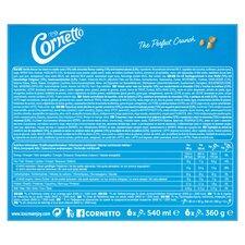 image 2 of Cornetto Classic Ice Cream Cones 6X90ml