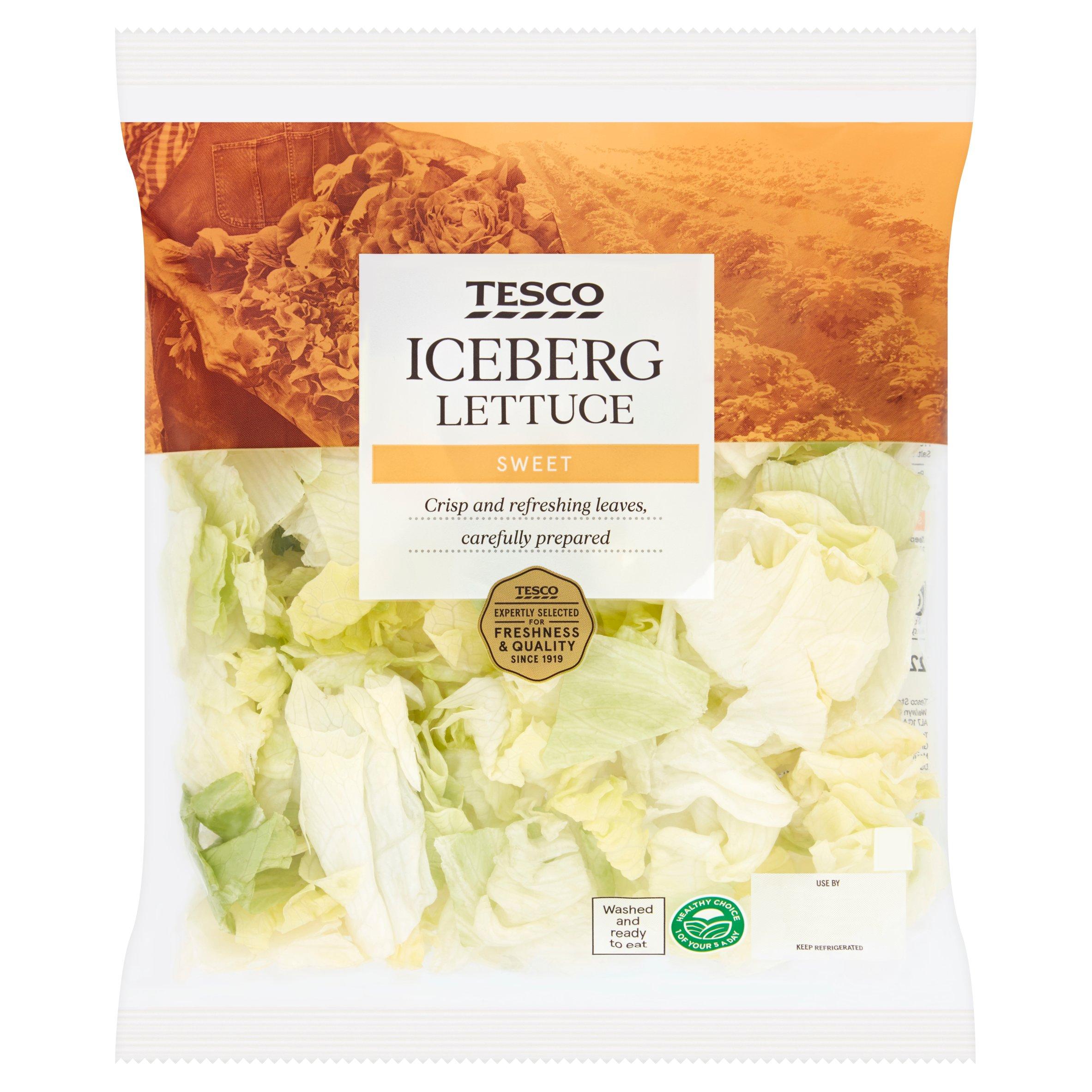 Tesco Iceberg Lettuce 220G