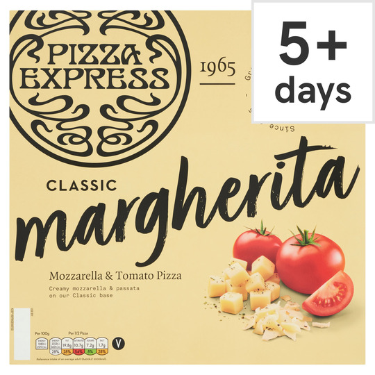 Pizza Express Classic Margherita Pizza 447g