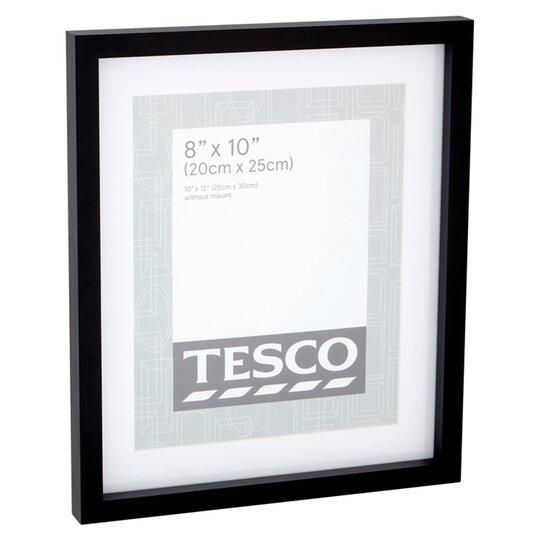 Tesco Photo Frame 8x10 With Mount Black Tesco Groceries