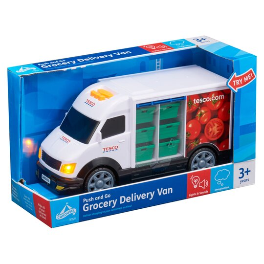 Carousel Tesco Grocery Delivery Van