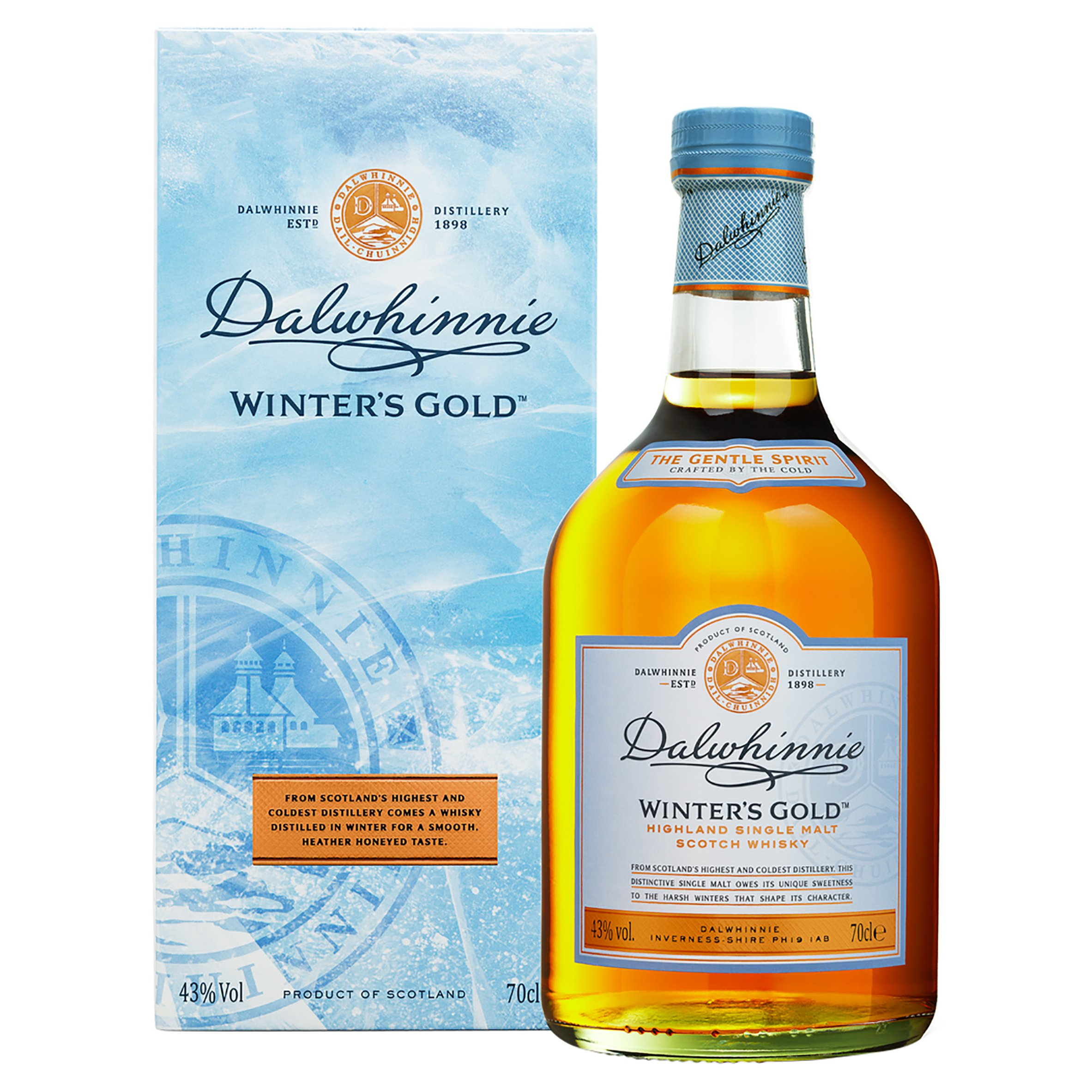 Dalwhinnie Winter Gold Wky 70Cl - Spicy