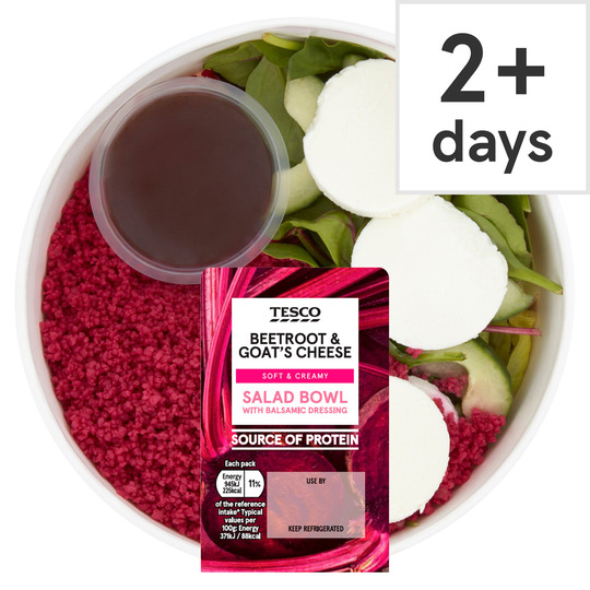 Tesco Beetroot & Goat's Cheese Salad Bowl 255G