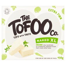 Naked XL Extra Firm Tofu, Organic, The Tofoo Co. (450g)