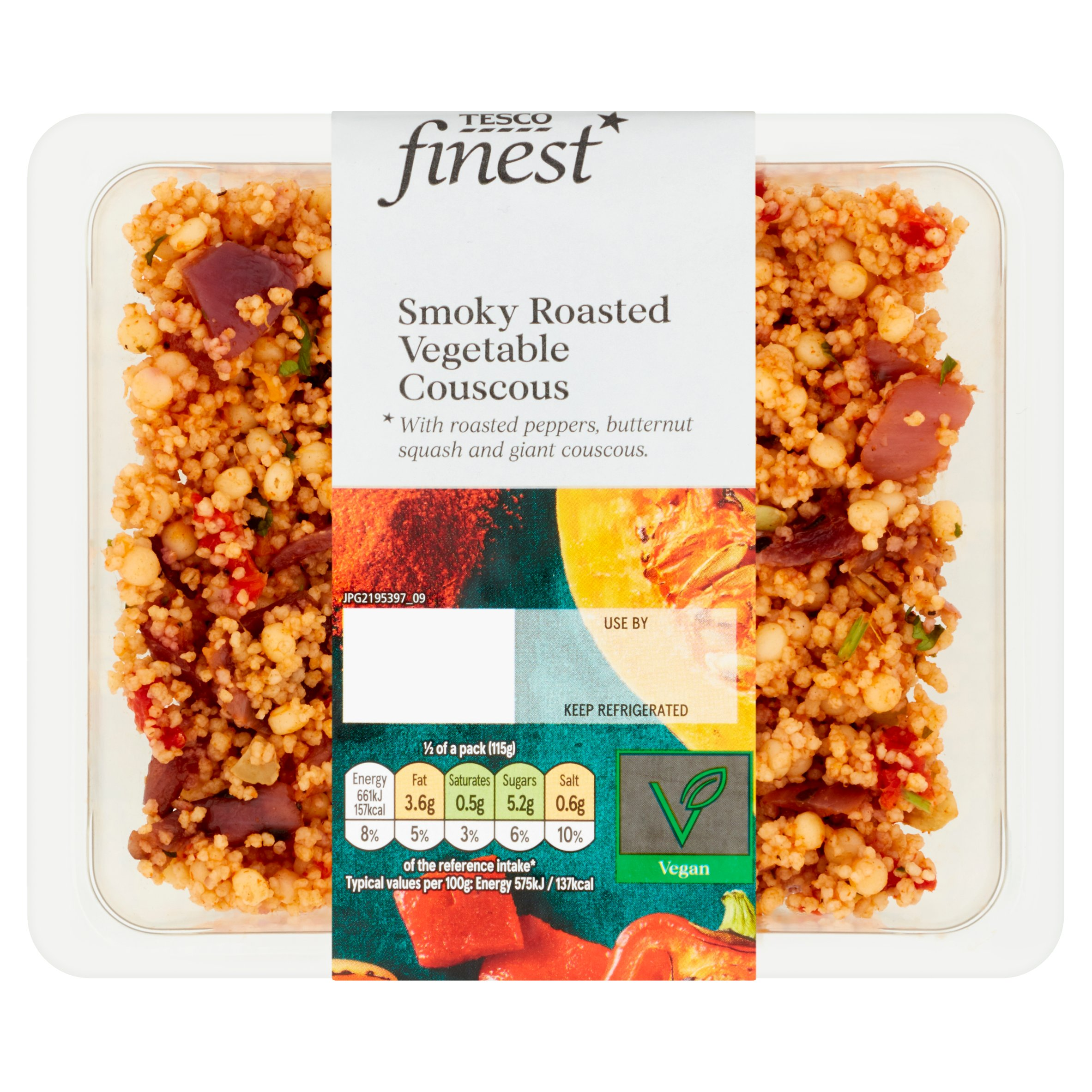 Tesco Finest Smoky Roasted Vegetable Couscous 230G