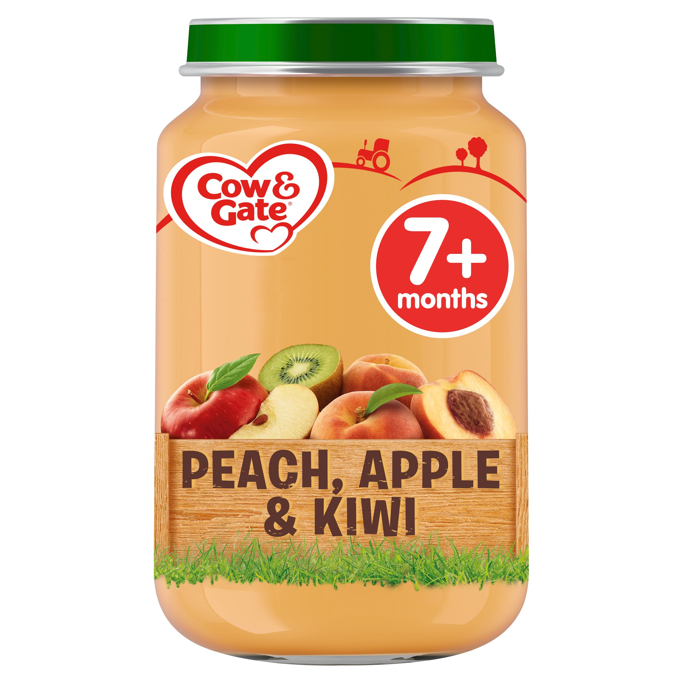 Cow & Gate Stage 2 Peach Apple & Kiwi 200G