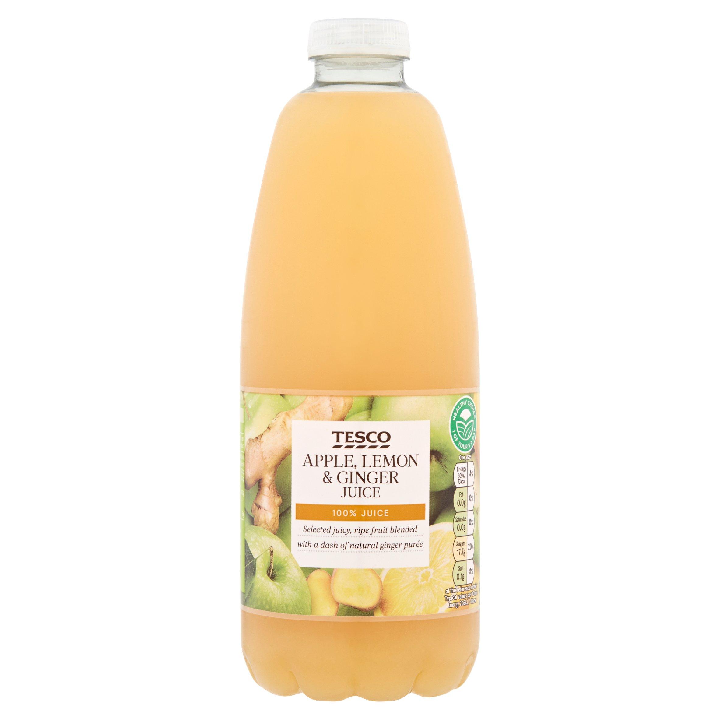 Tesco Apple, Lemon & Ginger Juice 1L