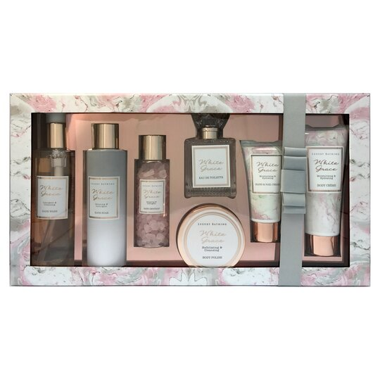 White Grace Indulgence Gift Set Tesco
